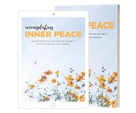 Accomplishing Inner Peace