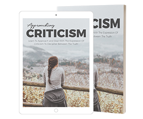 Approaching Criticism